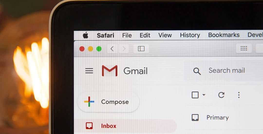 Gmail account on a Mac